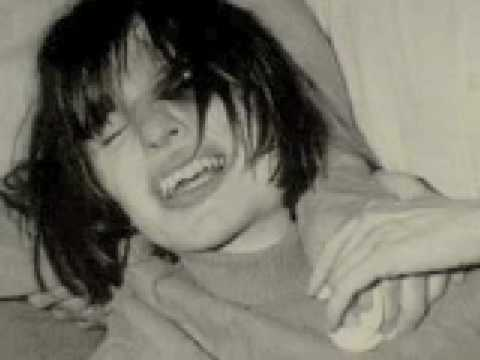 Anneliese Michel during the early days of her exorcism, note the broken teeth.